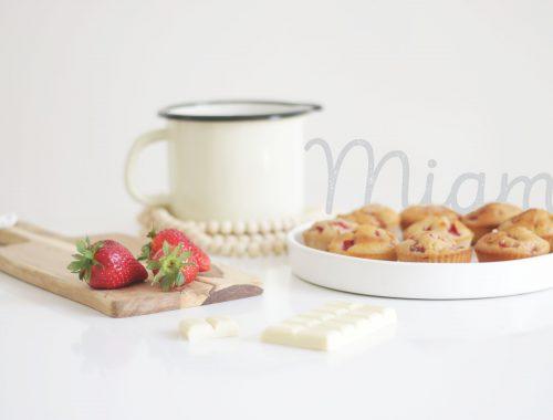 muffins-fraises-chocolat