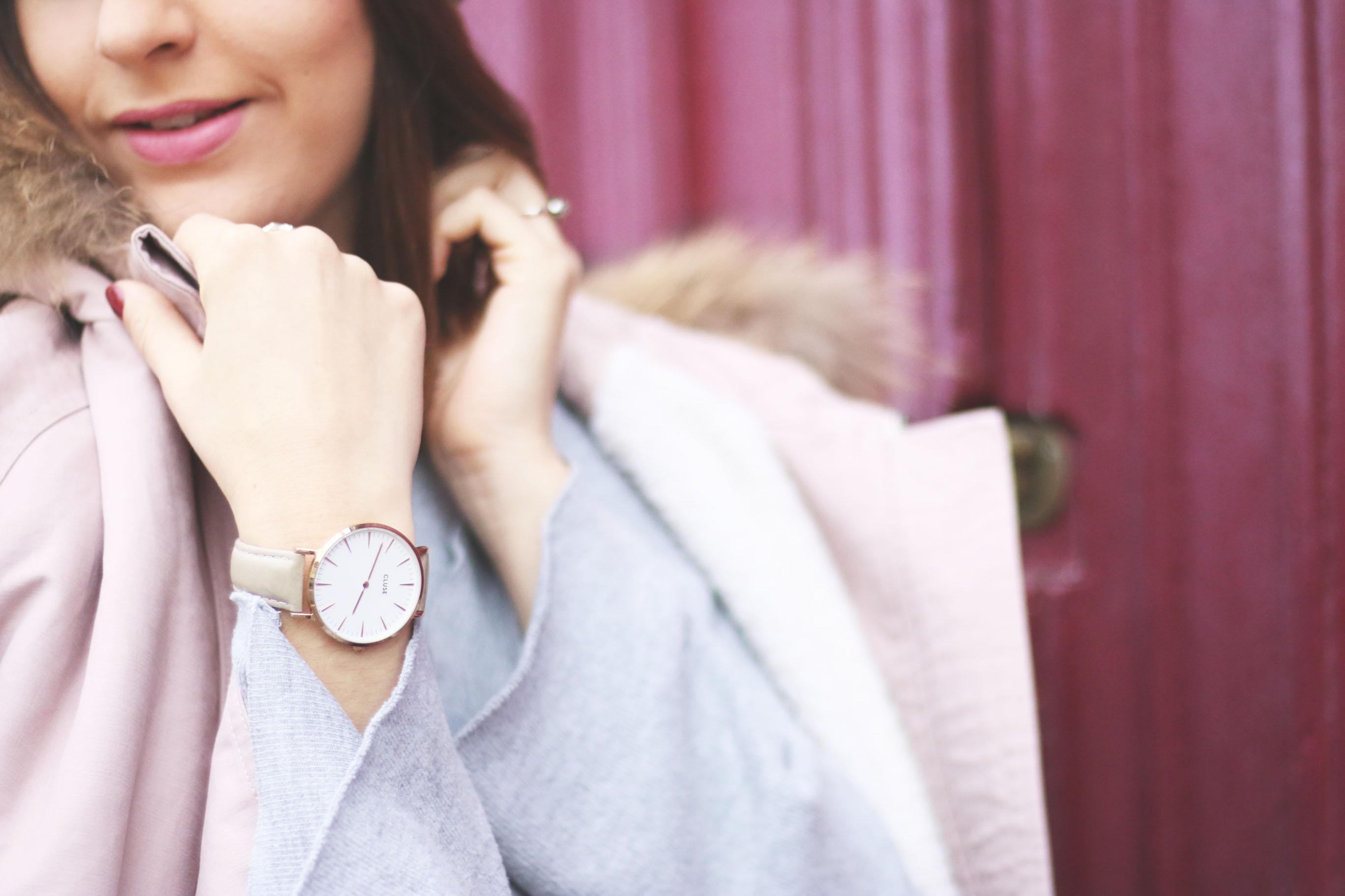 montre-cluse-rose